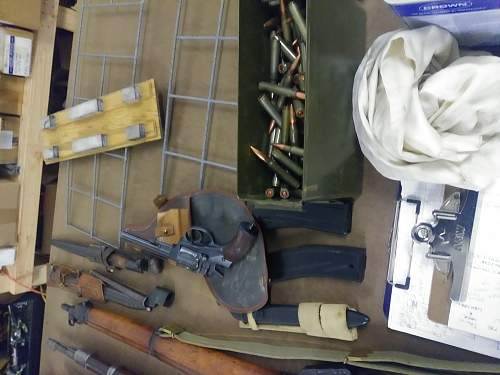 SCORED Mother LOAD of weapons just came across! Swedish m38 mauser info..?