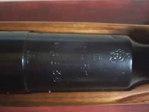 1945 (Late/Post War) M1938 Mosin Nagant Carbine