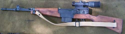 French MAS Model 49/56 Sniper Rifle