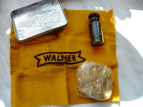 Cleaning kit made by Walther
