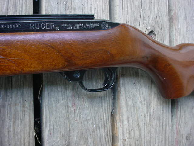 old ruger 10 22 pickup no comparison with the new ones