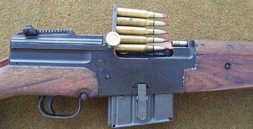 French MAS44 Simi-Auto Rifle