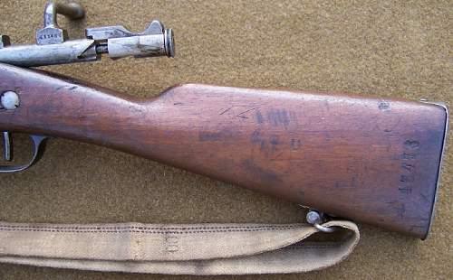 French 'LEBEL' 1890 Carbine