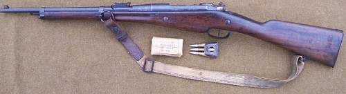 French Model 1892 Carbine