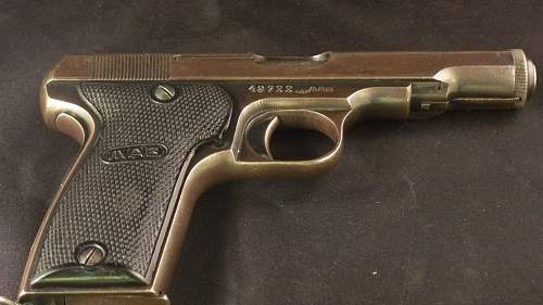 German Army Accepted MAB Model D