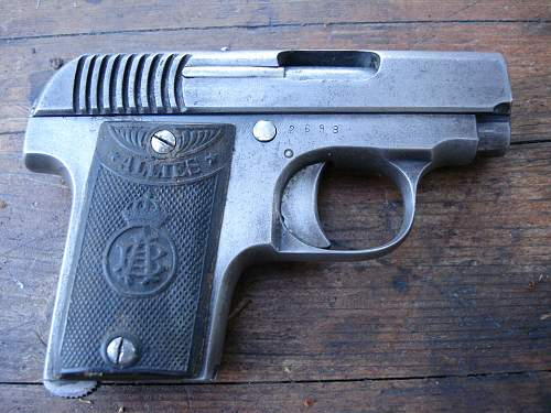 """6.35 """"ALLIES"""" pistol"""