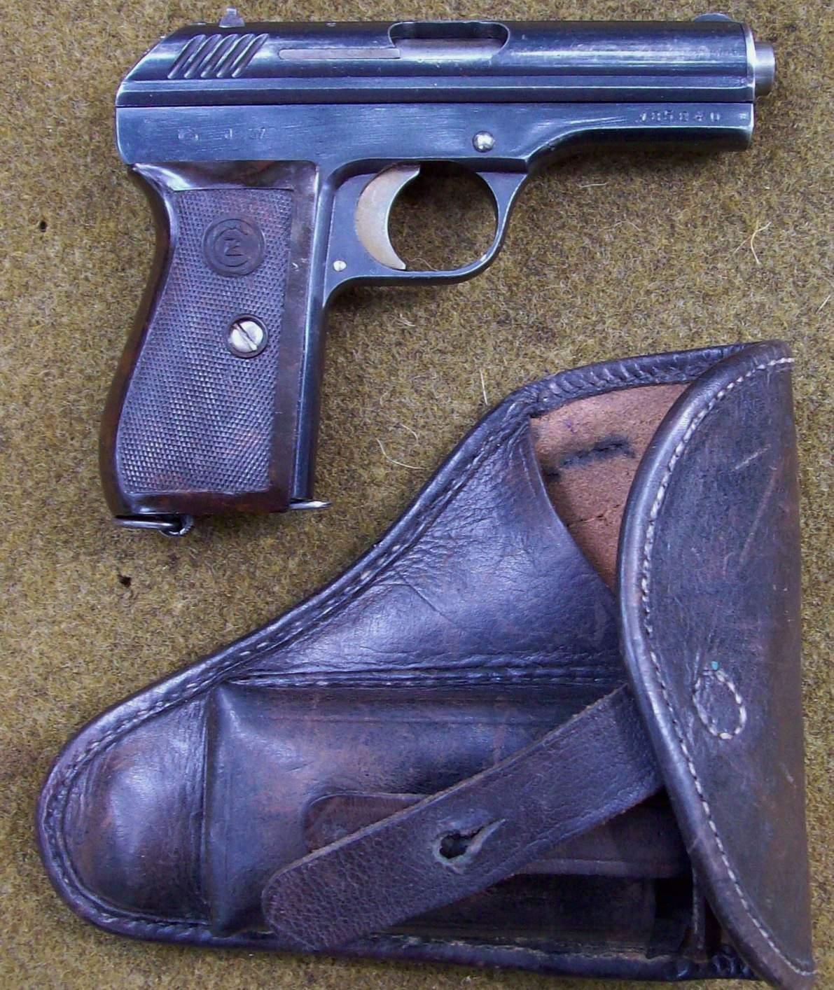 Czech CZ-24 Pistol