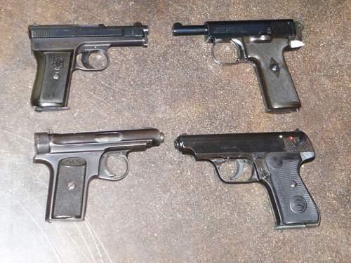 Some pocket pistols