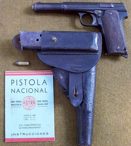 Spanish Army Astra Model 400