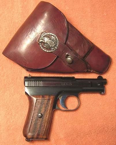 Mauser pocket pistol