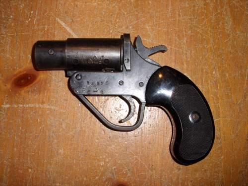 My first gun, a Mk I Flare Gun