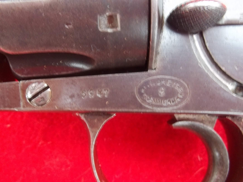 GERMAN REICHSREVOLVER MODEL 1979 Caliber 10.55mm DREYSE 1882
