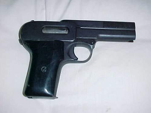 Dreyse 7.65mm (.32ACP) ID???