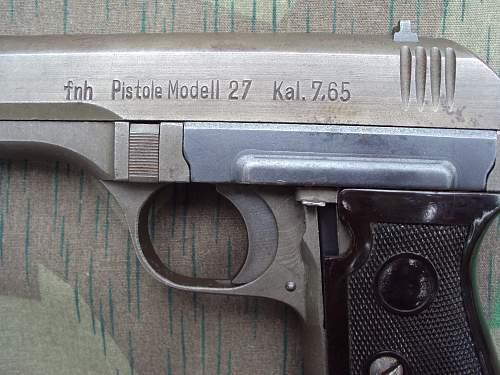 Axis Small-Calibre Automatic Pistols