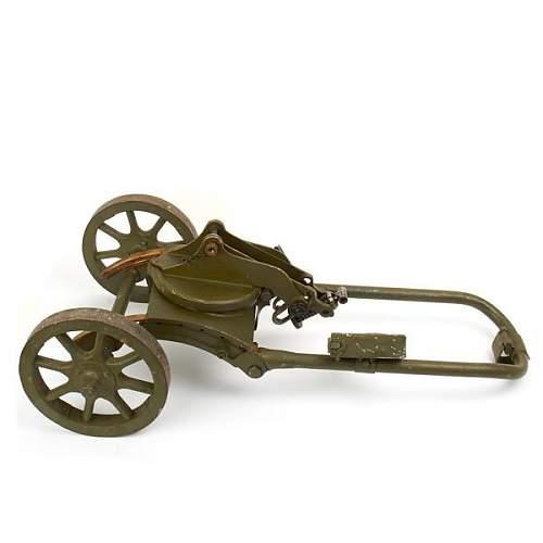 Soviet maxim gun base???