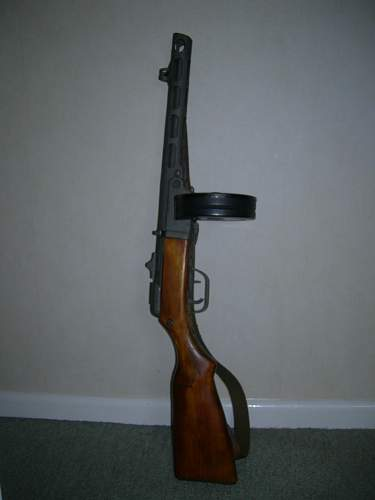 Non-blued PPSh-41