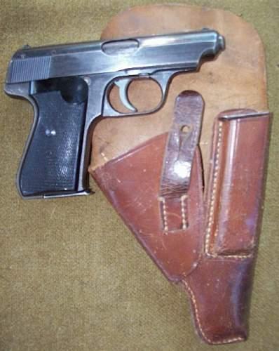 J.P. Sauer 38h pistol