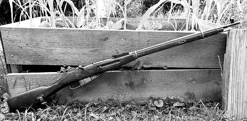 Mosin Nagant Rifle 91/30