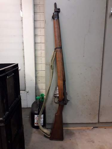 My SMLE No. 4 Mk. I, need help identifying buttstock find