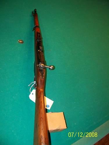 Dutch/German M95 Carbine 6.5mm