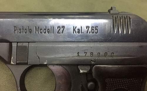 CZ 27 Bohemishe variant dating