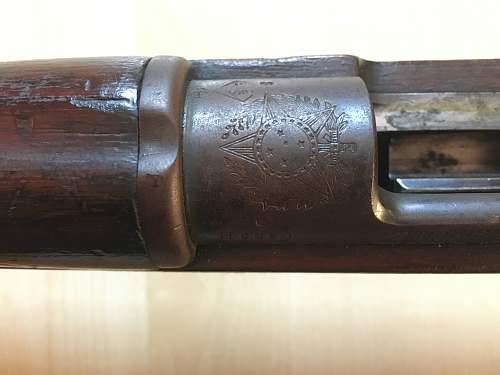 1894, FN made Brazilian Mauser