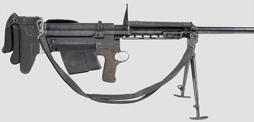 SS M41 anti tank rifle