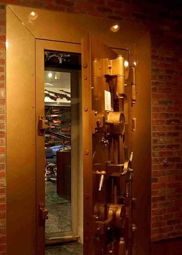 Charlton Heston person gun vault..