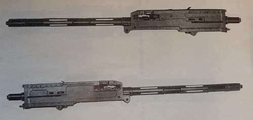 What kind of machine gun