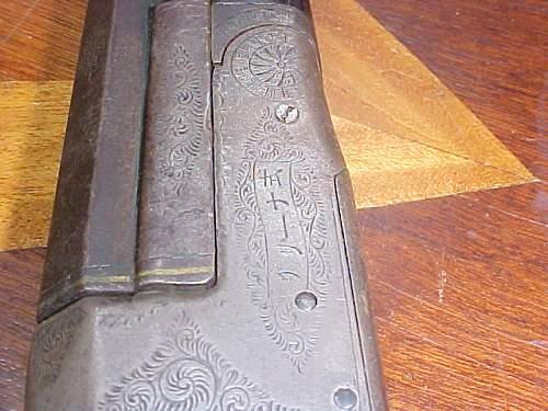Antique Japanese Shotgun