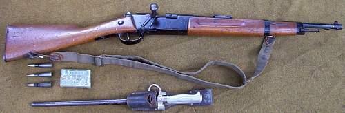 Carcano M91 or Dutch Mannlicher M95?,