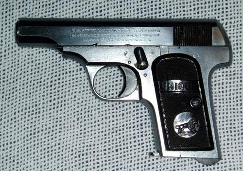 French/German MAB Model C Pistol