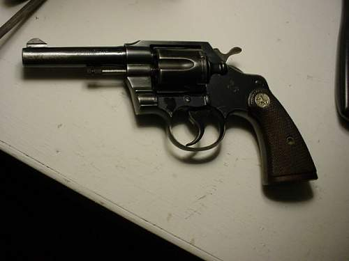 Old Colt 38 special Police revolver,info needed