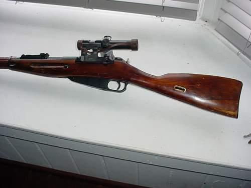 400.00 Russian sniper pu 91/30 buy