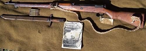 Japanese 'LAST DITCH' Type 99 Rifle