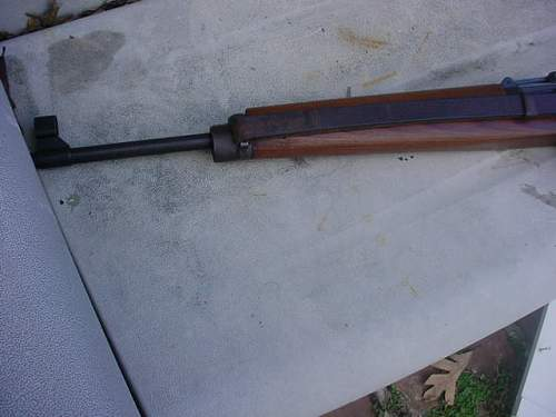 Hitlers Garand,as issued rifle,K43 for review