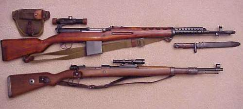 Thought I'd show my sniper rifles
