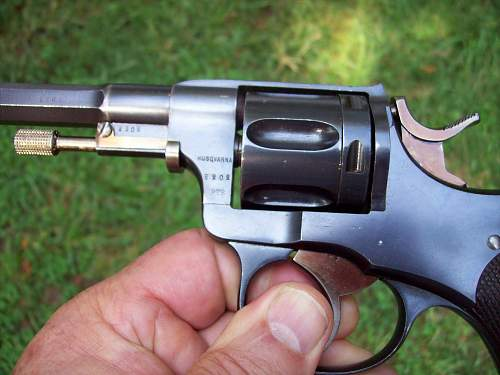 Swedish M/87 Revolver Cal. 7.5mm