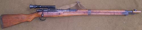 Japanese Type 99 Sniper Rifle