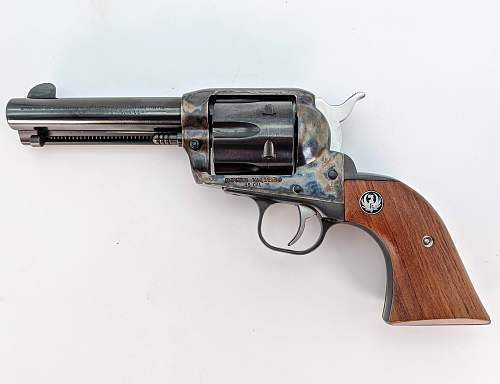 44-40 Peacemaker revolver,won the west