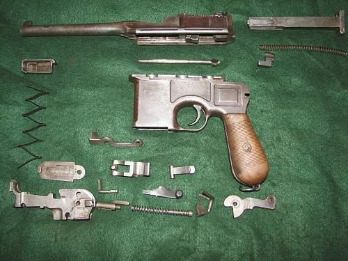Civilian Contract Mauser C96