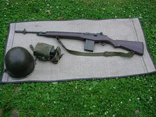 M14 US rifle,look good?