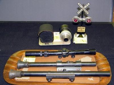 A few telescopic sights