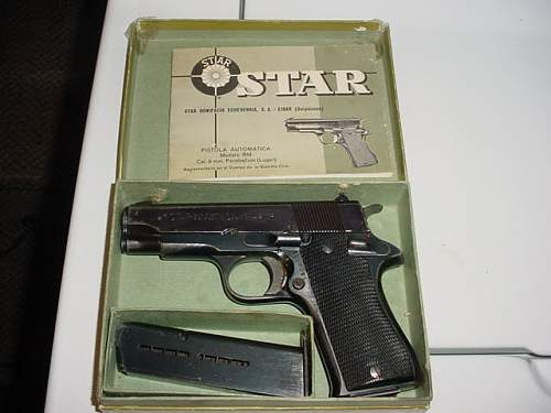 Beat up STAR police trade in but shoots great!