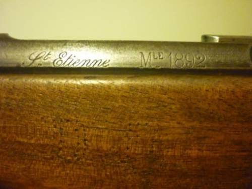 French Markings on Rifle