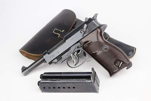 P.38 with holster