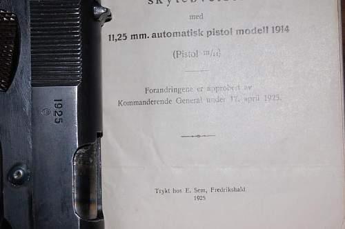 My Kongsberg M1914