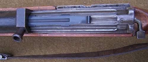 1945 K-43 ac45 dual bolt guides