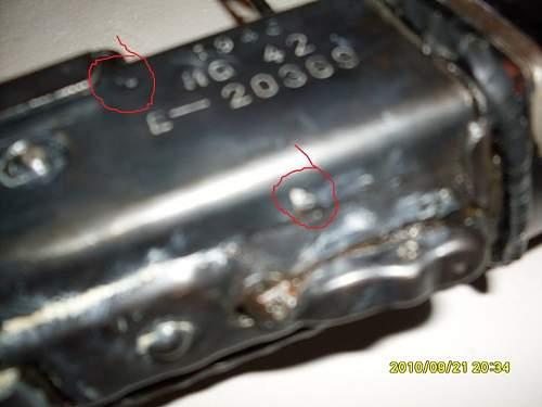 mg42 original  or postwar ???  please help me