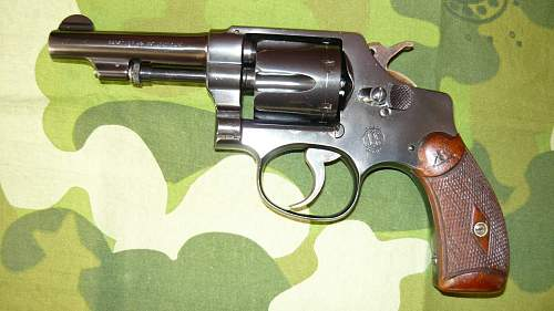 Smith & Wesson .32 3rd model hand ejector revolver